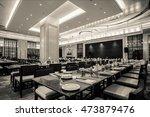 restaurant interior  part of... | Shutterstock . vector #473879476