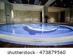 luxury swimming pool | Shutterstock . vector #473879560