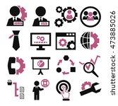 system  user  administrator... | Shutterstock .eps vector #473885026