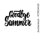 Goodbye Summer   Hand Drawn...