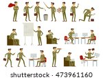 set character businessman in... | Shutterstock . vector #473961160
