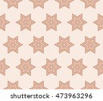 cyclic geometrical pattern of... | Shutterstock .eps vector #473963296