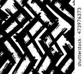 vector seamless pattern in... | Shutterstock .eps vector #473976373