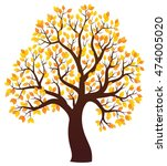 Autumn Tree Theme Image 3  ...