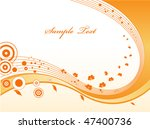 abstract wave decoration | Shutterstock .eps vector #47400736