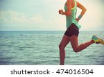 healthy young fitness woman... | Shutterstock . vector #474016504
