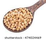 Soybean Wooden Spoon White...
