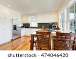 design of kitchen room interior ... | Shutterstock . vector #474046420