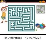 cartoon illustration of... | Shutterstock .eps vector #474074224