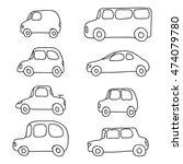 simple cars | Shutterstock .eps vector #474079780