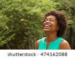 beautiful african american woman | Shutterstock . vector #474162088