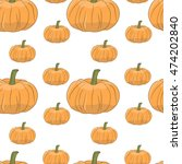 vector seamless pattern.... | Shutterstock .eps vector #474202840