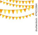 illustration autumn holiday... | Shutterstock .eps vector #474211864