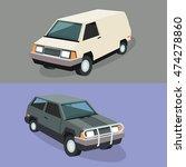 auto garage couple car... | Shutterstock .eps vector #474278860