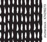 seamless bold strip pattern.... | Shutterstock . vector #474298273