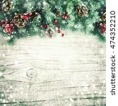 christmas greeting card.  | Shutterstock . vector #474352210