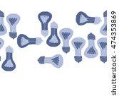 horizontal seamless pattern... | Shutterstock . vector #474353869