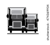truck logo   vector illustrator   Shutterstock .eps vector #474369934