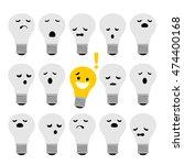 light bulb idea concept | Shutterstock .eps vector #474400168