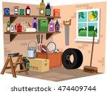 Garage Shelves.