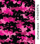 fashionable camouflage pattern  ... | Shutterstock .eps vector #474435976