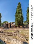 Small photo of Villa Adriana, Italy. Small baths, 118 - 134 years. UNESCO list.