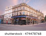 Small photo of BURY, UK - AUGUST 27, 2016: Public house. Bury is a town in Greater Manchester, on the River Irwell. Bury is known for the open-air Bury Market and the local traditional dish, black pudding.