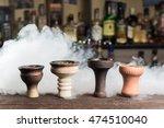 smoky hookah. hookah tobacco... | Shutterstock . vector #474510040