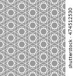 seamless line pattern in... | Shutterstock .eps vector #474512530