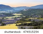 provence landscape at sunset ... | Shutterstock . vector #474515254