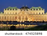 Famous Palace Belvedere In...