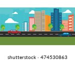 vector illustration   flat... | Shutterstock .eps vector #474530863