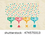 big data and data science... | Shutterstock .eps vector #474570313