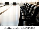 conference table and chairs in... | Shutterstock . vector #474636388