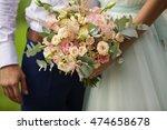 exquisite bride and groom in... | Shutterstock . vector #474658678