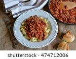 italian pasta    Shutterstock . vector #474712006