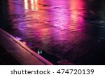 lights and shadows of new york... | Shutterstock . vector #474720139