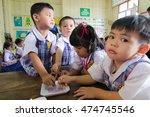 bangkok city  thailand   aug... | Shutterstock . vector #474745546