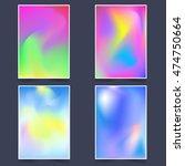 fluid multicolor backgrounds...   Shutterstock .eps vector #474750664