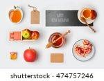 jewish holiday rosh hashana... | Shutterstock . vector #474757246