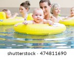 mums and their children having... | Shutterstock . vector #474811690
