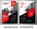 business brochure flyer design... | Shutterstock .eps vector #474820093