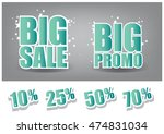 sticker  label  tags big sale... | Shutterstock .eps vector #474831034