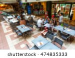 interior of small restaurant... | Shutterstock . vector #474835333