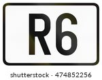 numbered ring highway shield... | Shutterstock . vector #474852256
