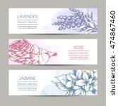 vector set  packaging cosmetic  ... | Shutterstock .eps vector #474867460