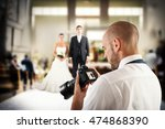 professional photographer in a... | Shutterstock . vector #474868390