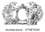 luxuriously  illustrated old... | Shutterstock . vector #47487634