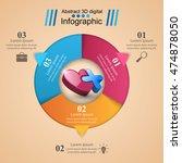 infographic design template... | Shutterstock .eps vector #474878050