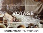 travel holiday wanderlust trip...   Shutterstock . vector #474904354